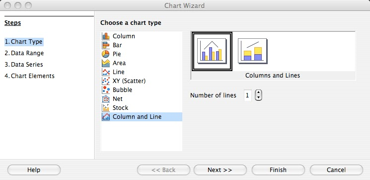 Andreas technical tidbits how to create a pareto chart in select the correct data range a1c8 by either using your mouse in the data range selector or by entering it manually leave the settings data series in ccuart Gallery
