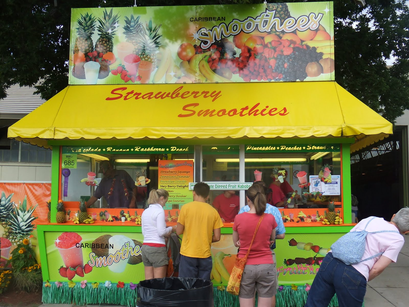 Smoothie stand business plan