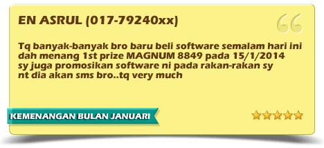 KEMENANGAN TERBARU BULAN JANUARI 2014