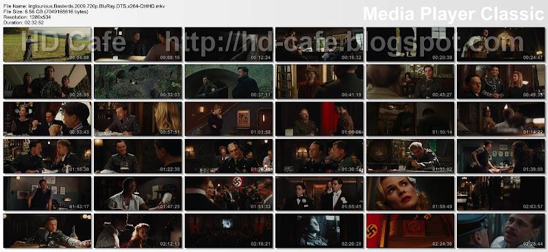 Inglourious Basterds 2009 video thumbnails