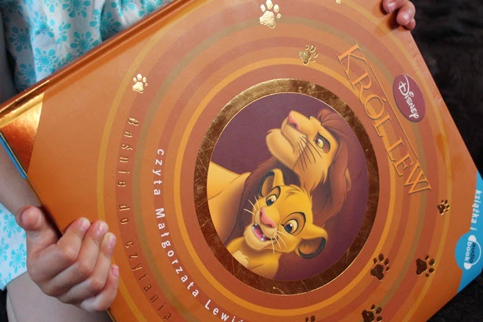 """""""Król lew"""" na podstawie animacji Disneya, Egmont"""