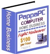 PappaPC Real Computer Home Business $100 Per Hour