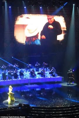 Celine Dion sick husband Rene,Celine Dion  performing in Caesars palace,Celine dion's husband's cancer,Celine Dion sings heart breaking tribute to Cancer stricken husband Rene