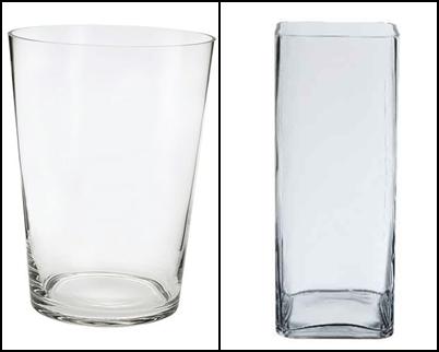 Elegid un bonito recipiente de cristal