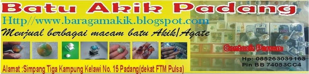 Batu Akik Padang