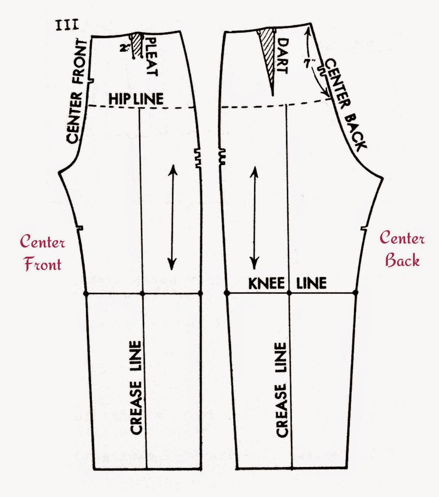 Pants are one of my favorite low-effort, high-reward sewing projects. If you choose a loose or semi-fitted silhouette, and an elastic waist, you can whip up a great pair of pants in no time.