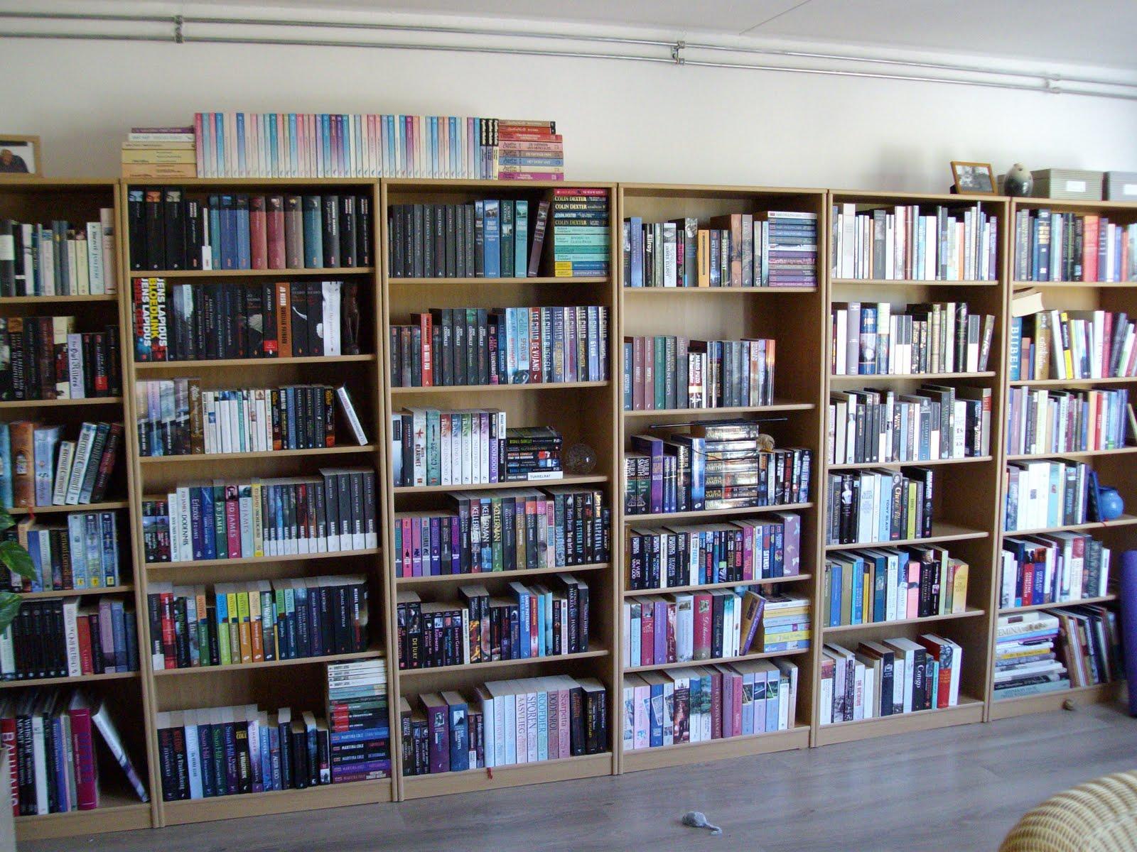 Bettina schrijft: Opruimen van de boekenkast