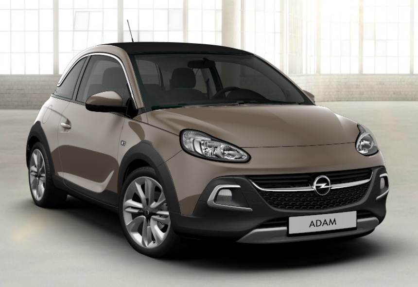 opel adam rocks 2018 couleurs colors. Black Bedroom Furniture Sets. Home Design Ideas
