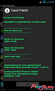 PowerAmp Jadi Full Versi