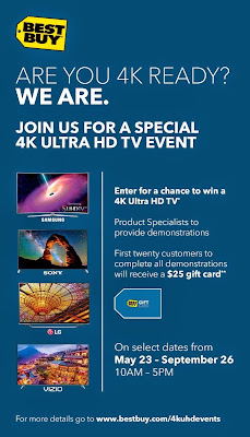 4K Ultra HD Events at Best Buy