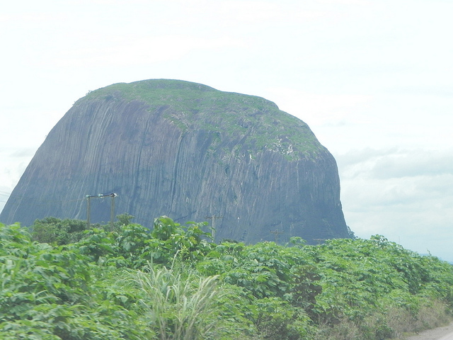 Zuma Rock, Nigéria