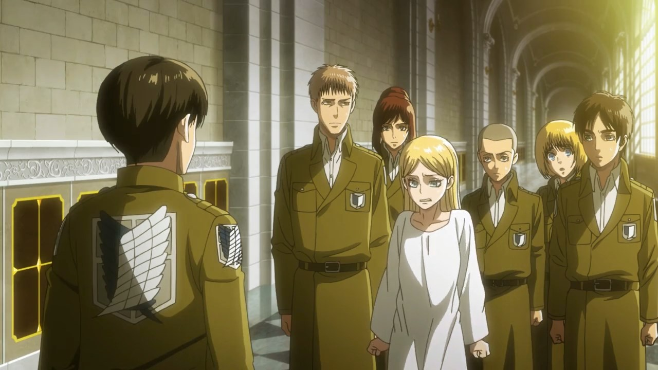 Attack on Titan - Tercera Temporada Capitulo 11
