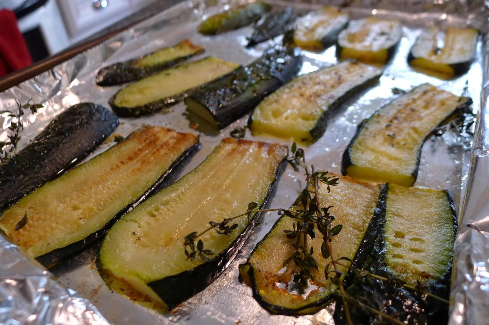 Roasted Zucchini, zucchini recipes