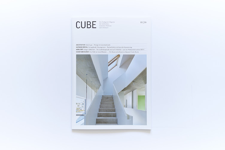Cube 1/2016 asp Architekten-VfB