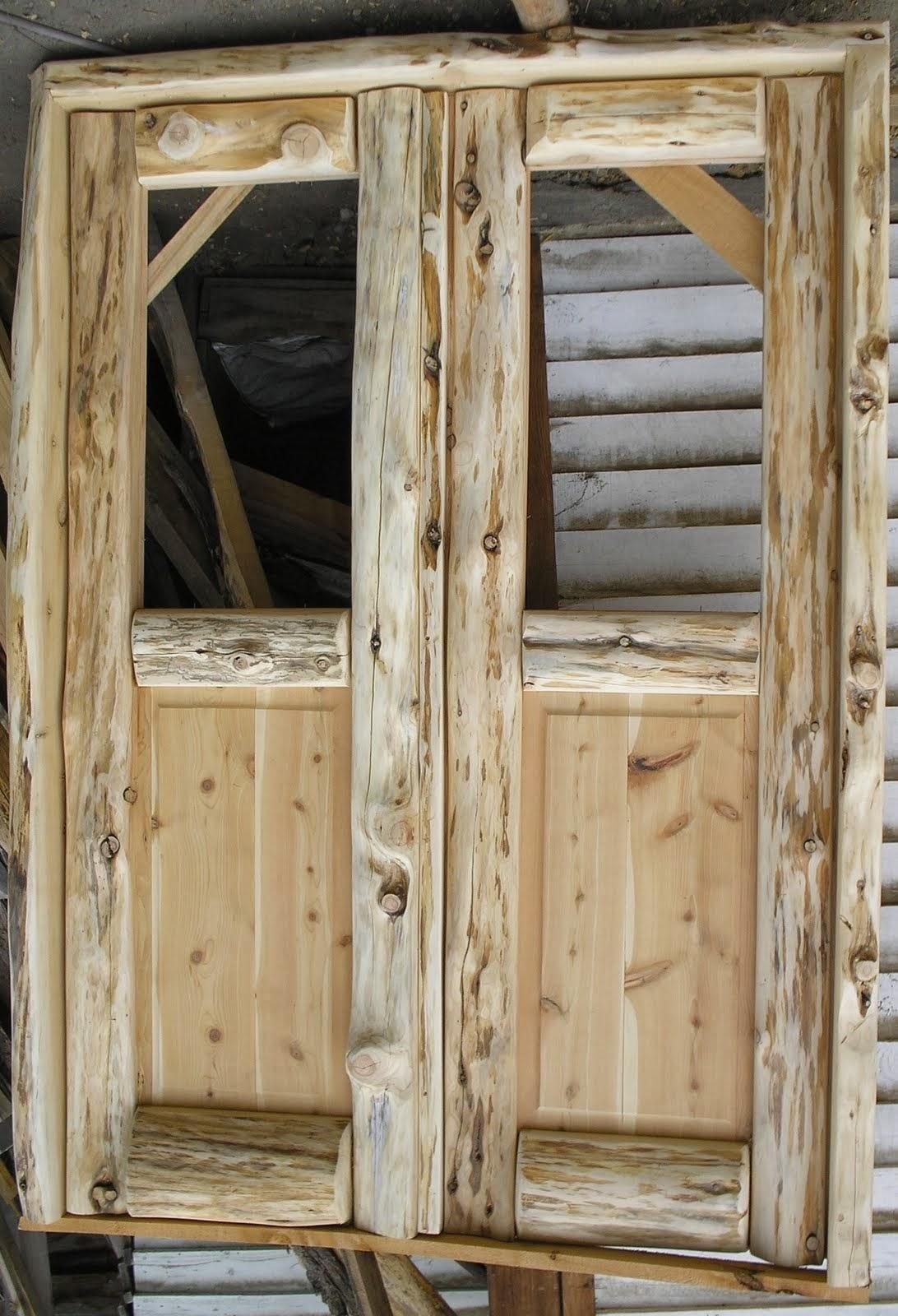 muebles artesanales puertas