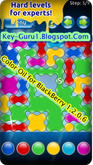 Color Oil 1.2.0.6 For BlackBerry Game
