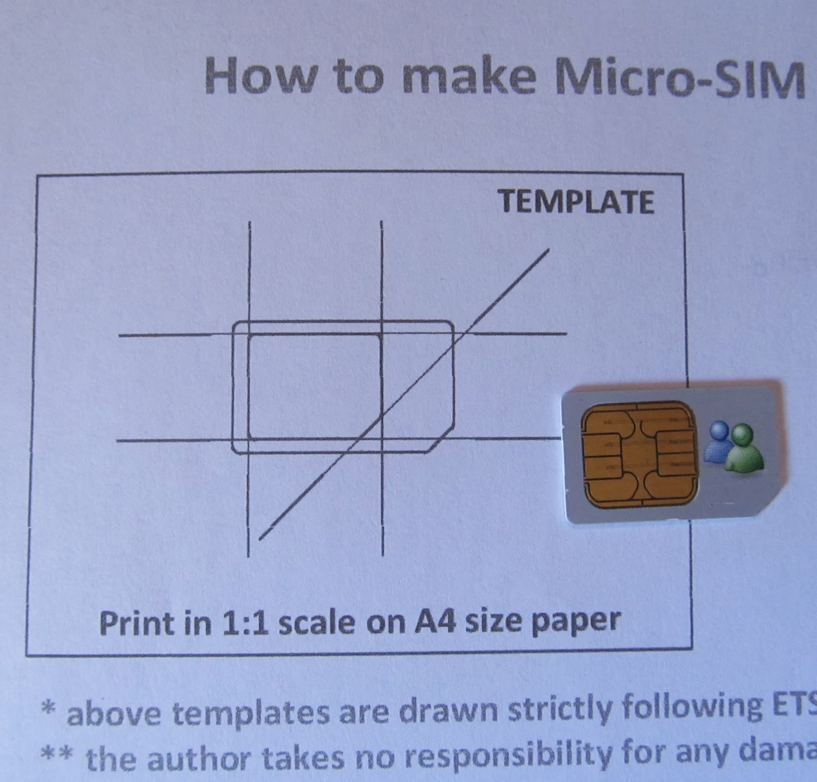 daily hacking cut my sim to microsim size