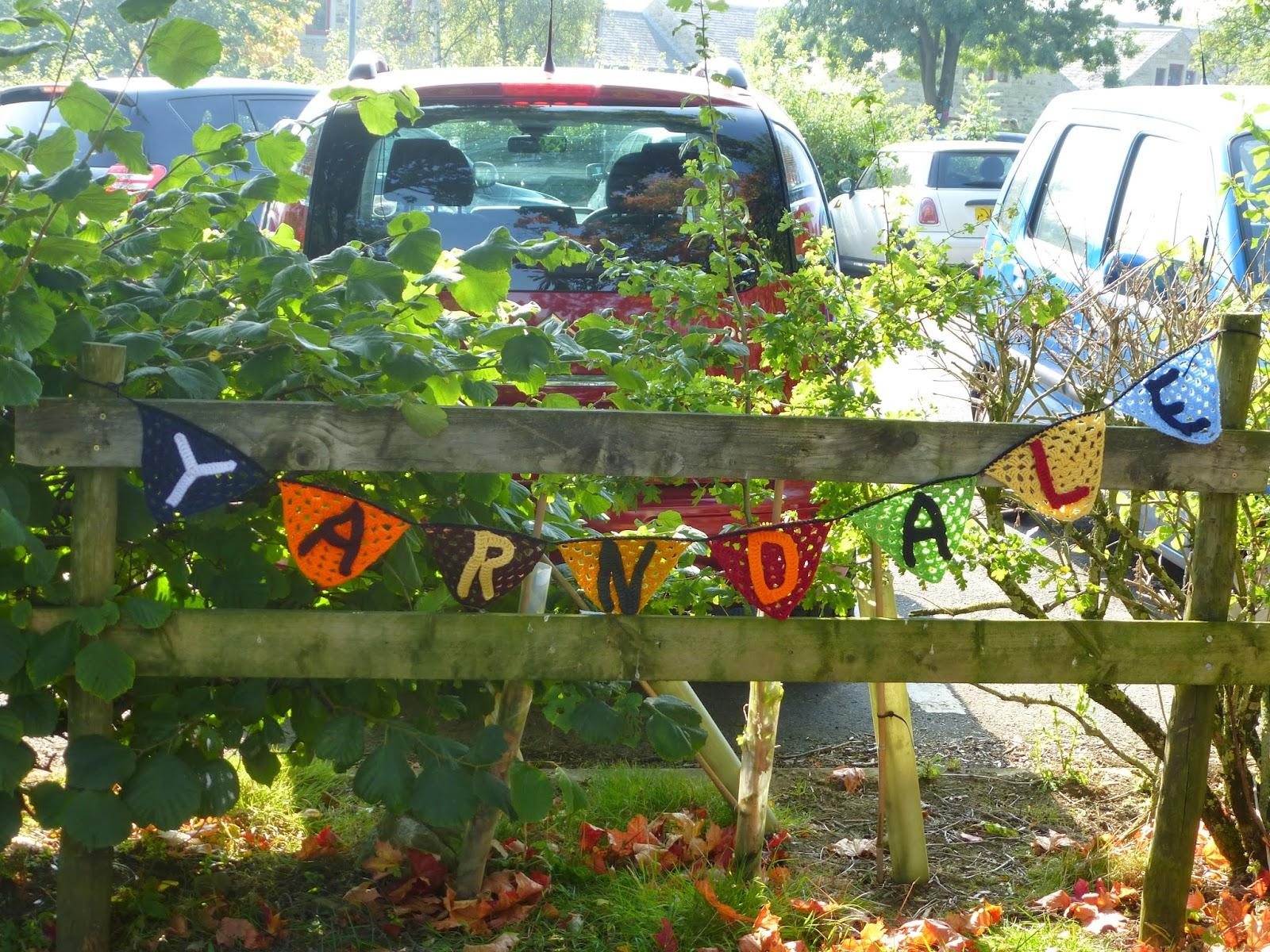 Isla of Axholme Yarndale 2013 crochet bunting