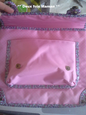 sac scolaire fille