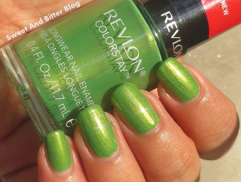 Revlon Bonsai 230 Colorstay Nail Polish Swatch India