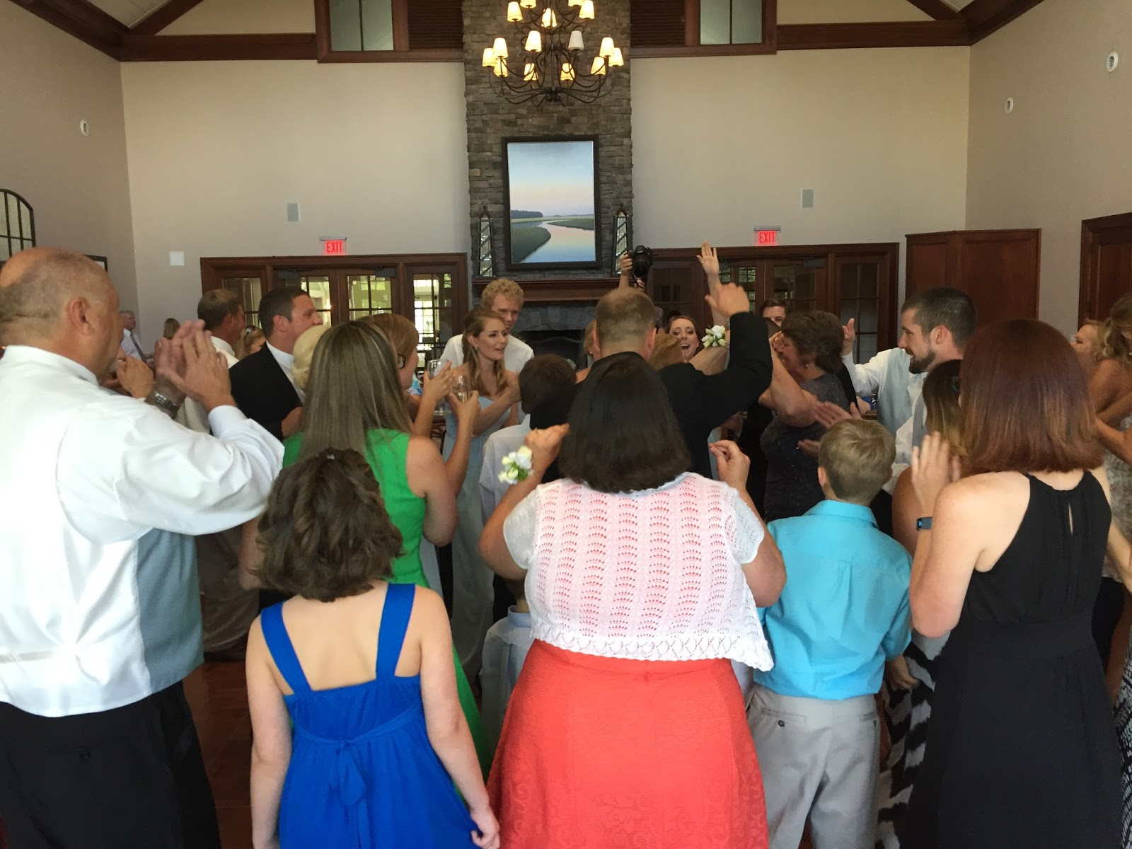 Dj Randy B S Weddings And Events Maddie Nathan S Epic 4th Of July