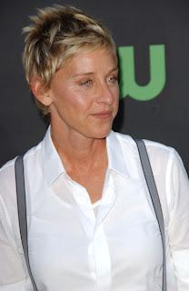 Ellen DeGeneres Short Hairstyles
