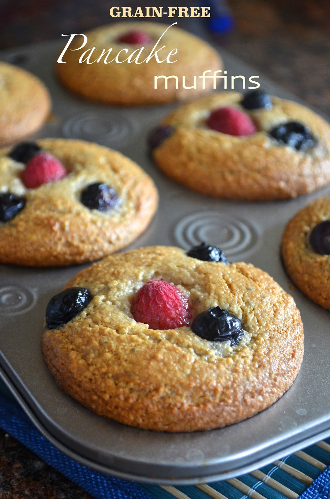 Dishing with divya grain free pancake muffins if you want to treat your family with gluten free grain free fluffy and nutrients loaded pancakes that are quick and easy to make then here is one easy ccuart Image collections