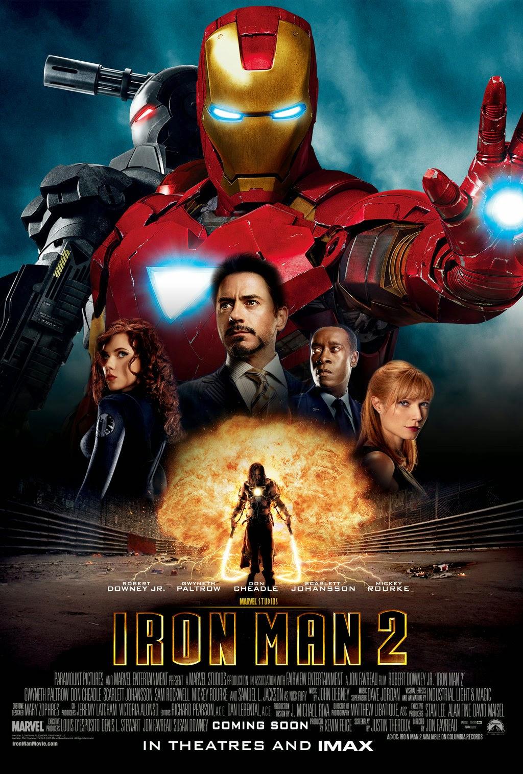 Người Sắt 2 - Iron Man 2 (2010) Poster