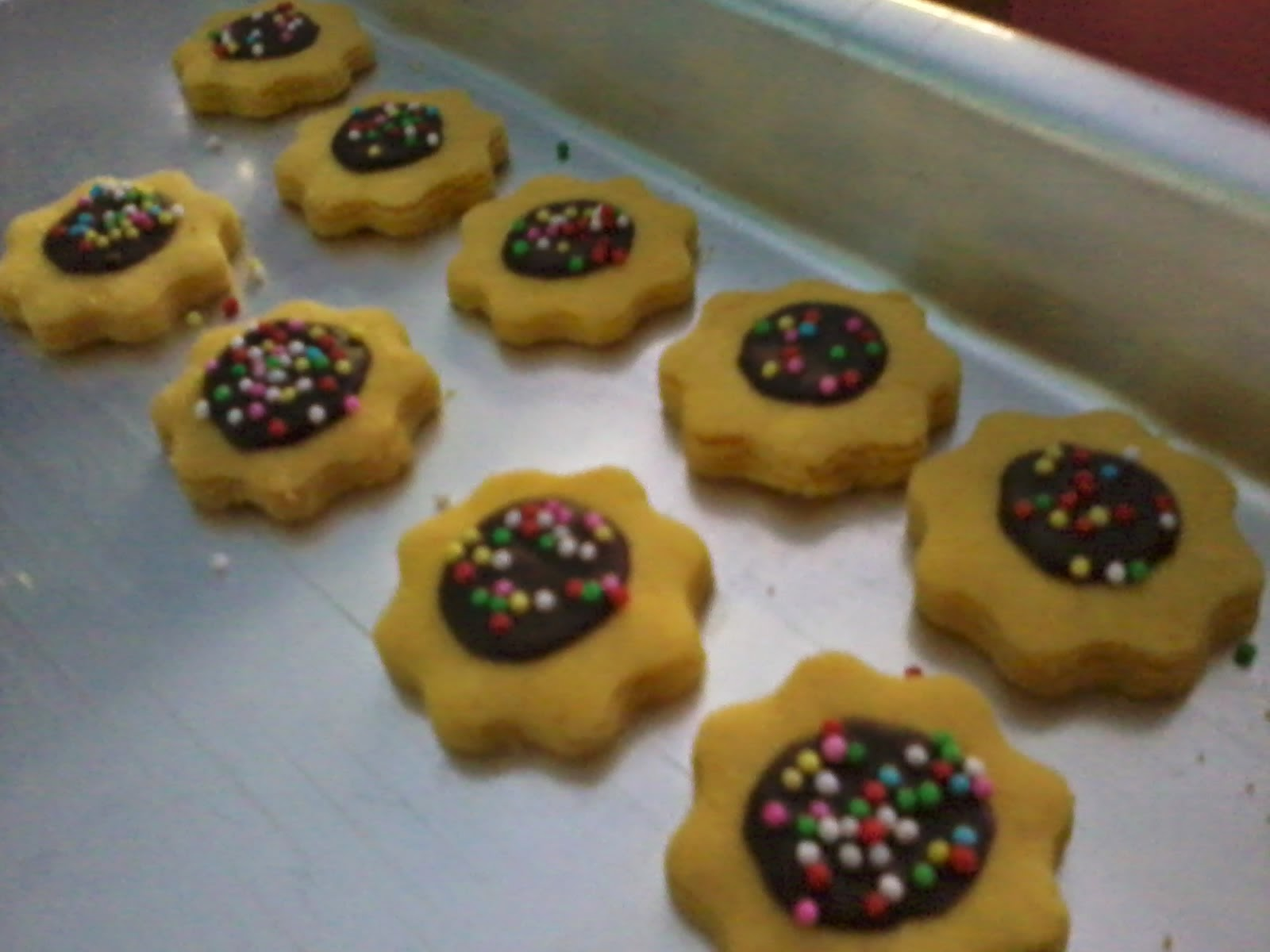 flower shaped cookies,flower biscuit