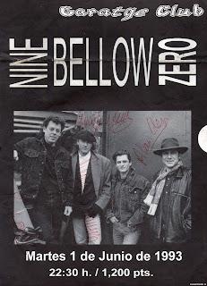autografos de nine bellow zero