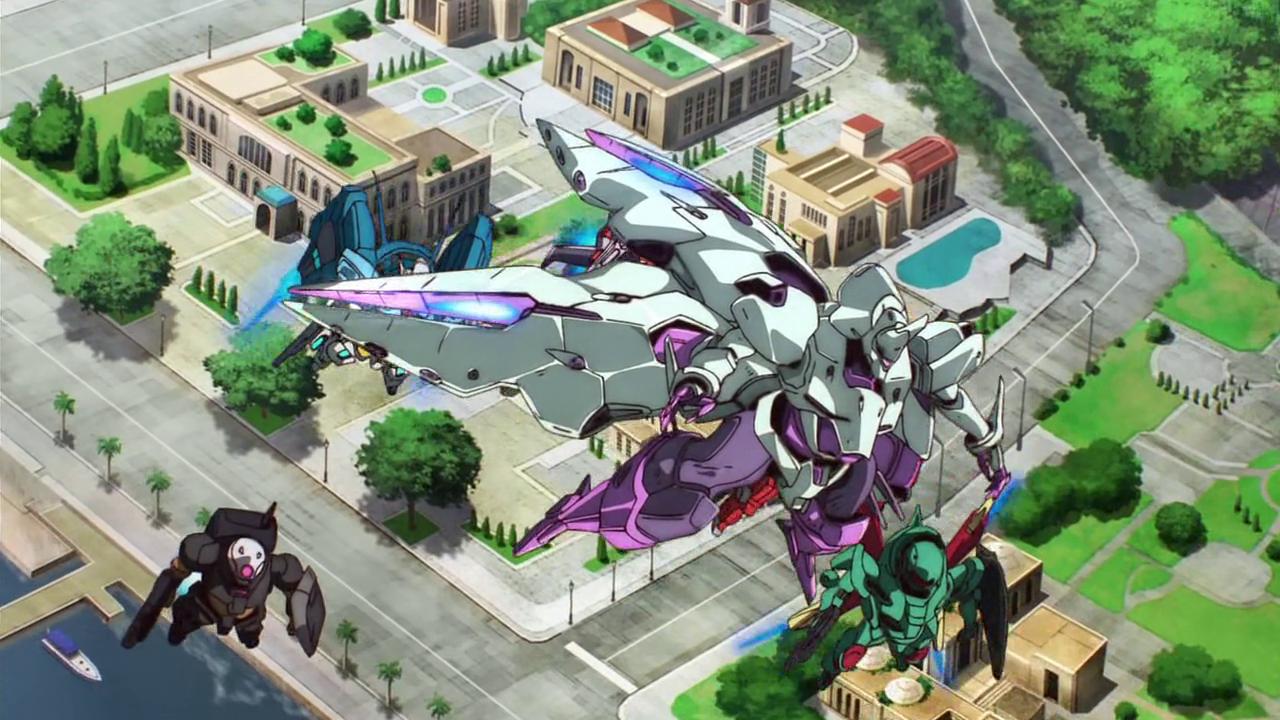 Resoconto Gundam Reconguista in G ep 21