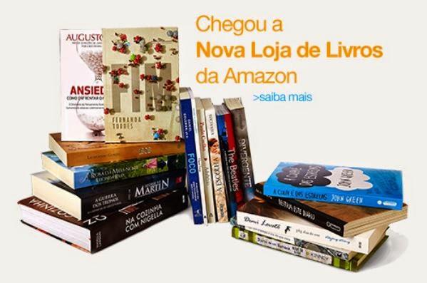 Amazon Brasil, agora com livros impressos