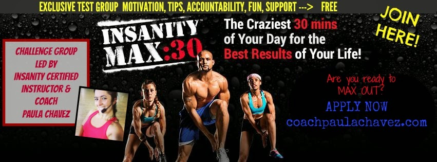 insanity max 30 challenge group coach tbb coach paula chavez dream team 618 fitness