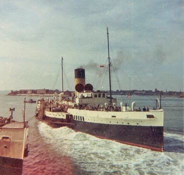 The days of the IOW Paddle Steamers
