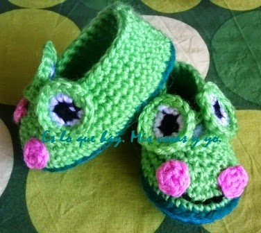 zapatos rana para bebé
