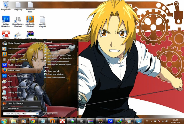 anime themes for pc computer full metal alchemist