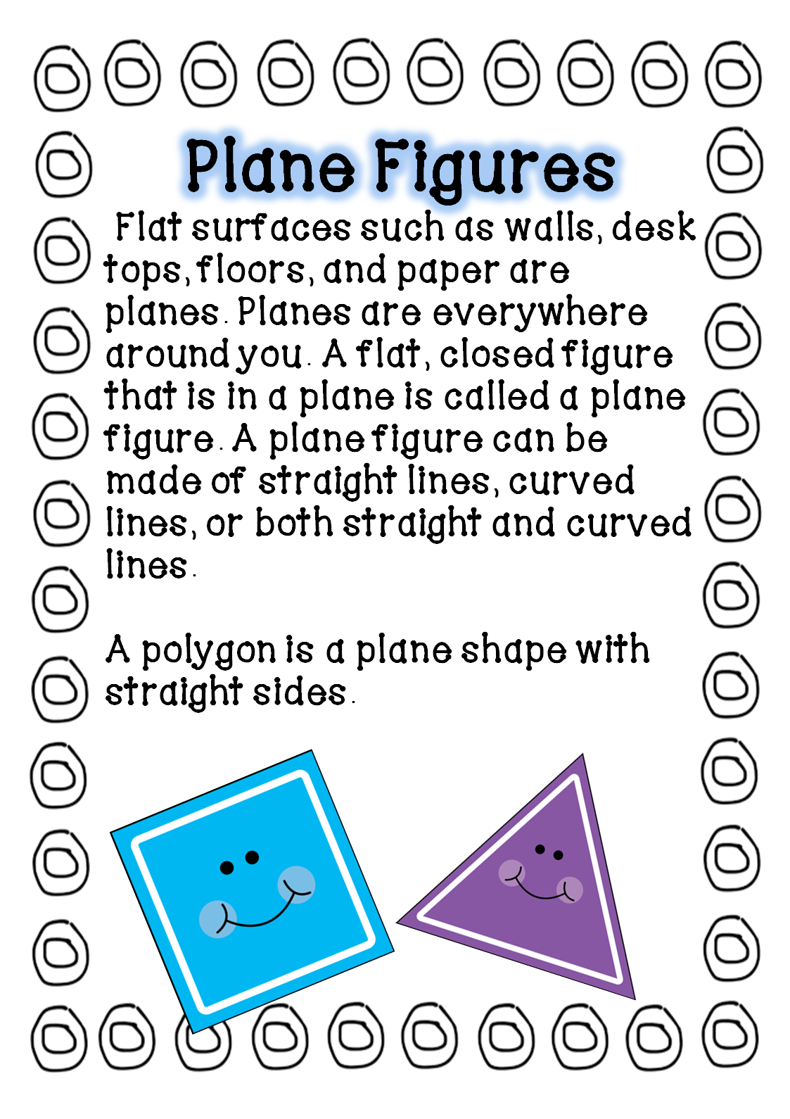 three dimensional shapes worksheet