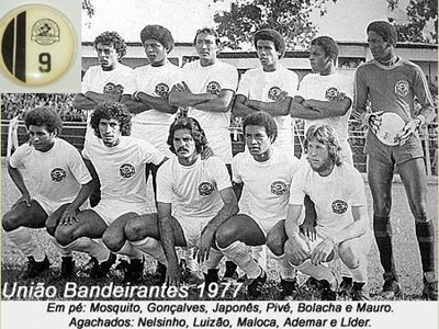 União Bandeirante/PR do ano de 1977 da Brianezi