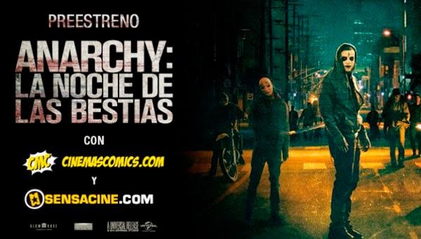 Preestreno Anarchy: La Noche de las Bestias