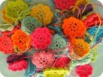 Hæklet blomst DIY