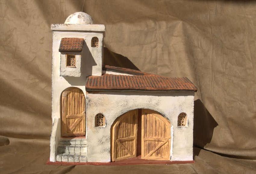 Artesan as llacor casa t pica de bel n - Casas para belenes hechas a mano ...