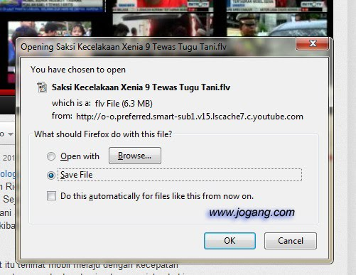 Cara Download YouTube video tanpa software