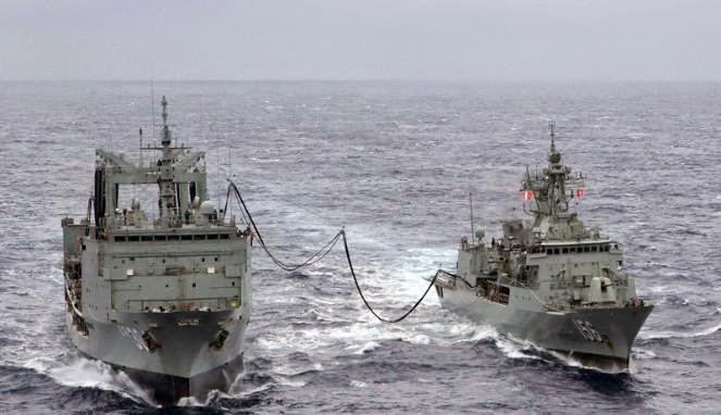 TNI AL Ketahui Kapal Australia Terobos Perairan Indonesia