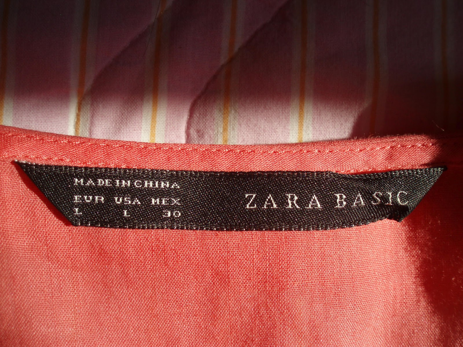 the greekflick zara coral shirt with a colar fashion awesomeness