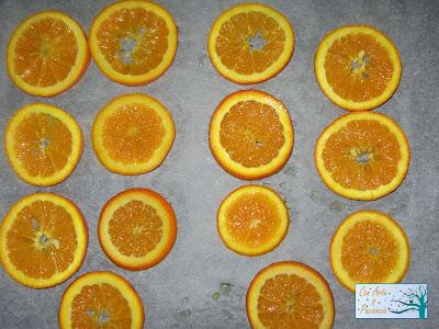 Delicatessen de naranjas confitadas con chocolate