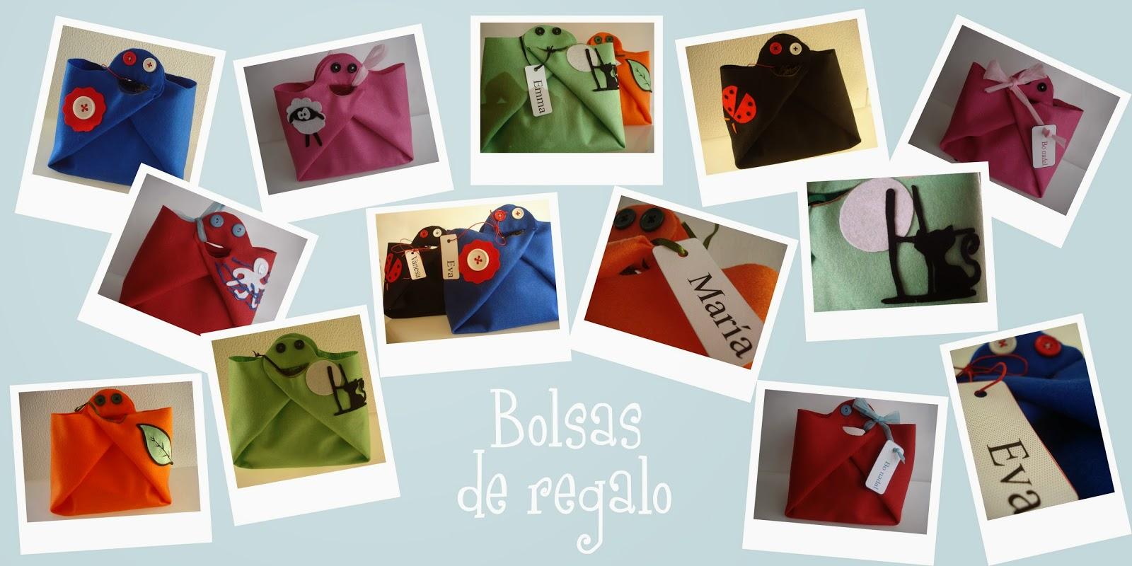Bolsas de regalo personalizadas con cosméticos ecológicos