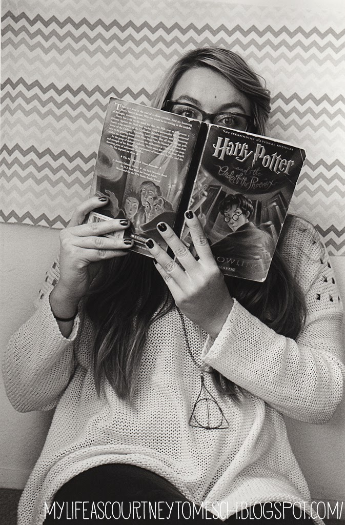 Black and White Photography Harry Potter Courtney Tomesch