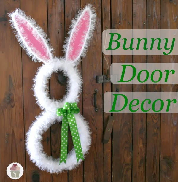 DIY Bunny Door Decoration