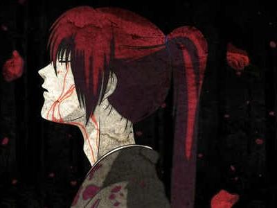 blood, rain, kenshin himura, samurai x movie, rorouni kenshin, live action, battosai himura, eyes closed