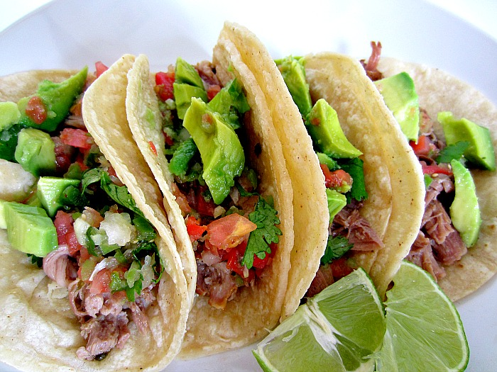 slow cooker shredded beef tacos blackened shrimp tacos slow cooker ...